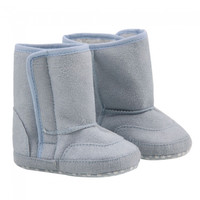 5.51 Well-matched Warm Soft Cotton Baby Boy/Girl Boots Shoes Light Blue - Default