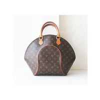 Auth Louis Vuitton Ellipse GM tote handbag vintage