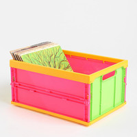 Collapsible Record Storage Crate