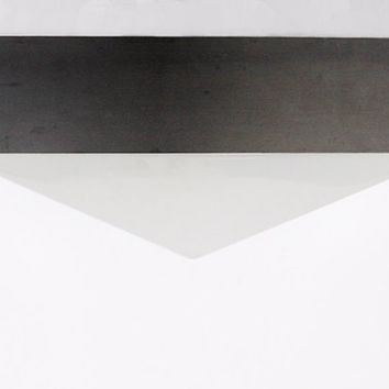 "Modernist Dutch White Pyramid Ceiling Light Fixture ""Gizeh"" - RAAK"