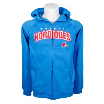 Quebec Nordiques YOUTH Essential Full Zip Hoodie