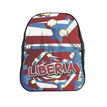 Liberian Pride  School Backpack