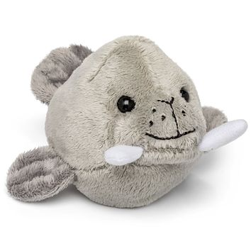 "Single Walrus Mini 4"" Small Stuffed Animal, Ocean Animal Toy, Sea Party Favor for Kids"