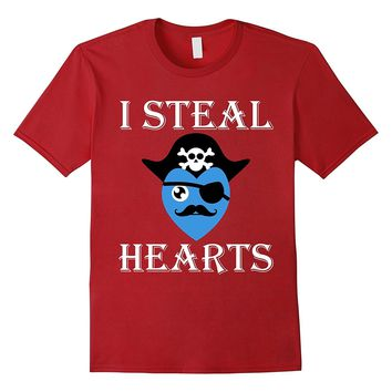 I Steal Hearts Valentine's Day Funny T-Shirt