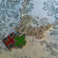 One Direction inspired necklace // I love One Direction // Harry Styles, Louis Tomlinson, Zayn Malik, Niall Horan, Liam Payne