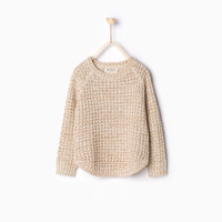 SHIMMER KNIT SWEATER