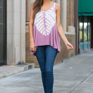 Cool With Casual Tank, Mauve