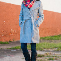 The Elizabeth Coat, Gray