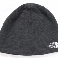 New The North Face Adult's Bones TNF Black Beanie Hat