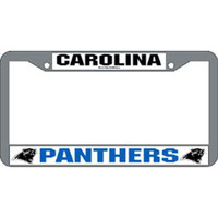 Carolina Panthers NFL Chrome License Plate Frame