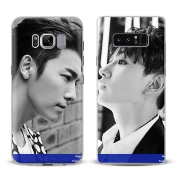 Super Junior kpop band Phone Case For Samsung Galaxy S4 S5 S6 S7 Edge S8 Plus Note 8 2 3 4 5 A5 A7 J5 2016 J7 2017 Cover Shell