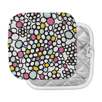 "Emine Ortega ""Pebbles Pink"" Pot Holder"