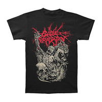 Cattle Decapitation Men's  Alone At The Landfill T-shirt Black Rockabilia