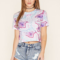 Just Hype Marbleized Tee | Forever 21 - 2000222023