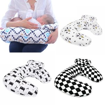 Muslinlife Baby Nursing Pillows Maternity Baby Breastfeeding Pillow Infant Cuddle U-Shaped Newborn Cotton Feeding Waist Cushion