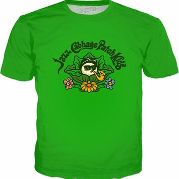 Jazz Cabbage Patch Kids T-Shirt - Weed Meme