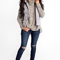 All Star Puffy Vest (Grey)
