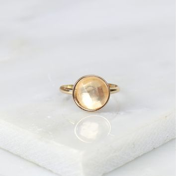 Stone Ring Champagne