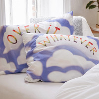 Over It/Whatever Pillowcase Set | Urban Outfitters