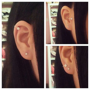 Ear Cuff For Cartilage/Tragus/Lobe/Nose