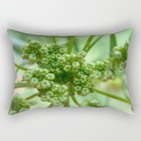 Seedlings Rectangular Pillow by UMe Images