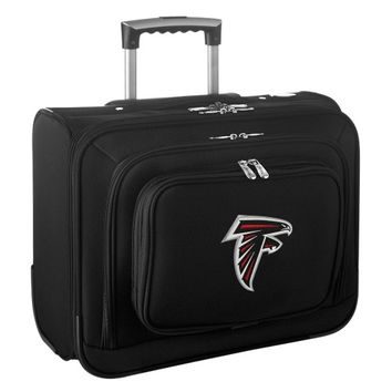 Atlanta Falcons Carry-On Rolling Laptop Bag - Black - http://www.shareasale.com/m-pr.cfm?merchantID=7124&userID=1042934&productID=540324401 / Atlanta Falcons