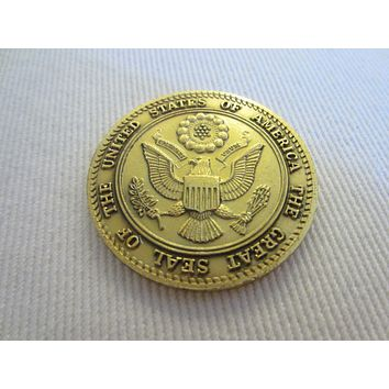 Spirit of 76 The Great Seal Of The United States Of America Golden Coin