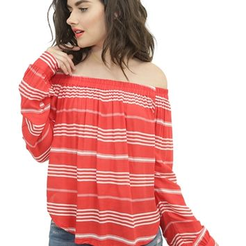 Faithful The Brand Vista Stripe Devin Top | Boutique To You