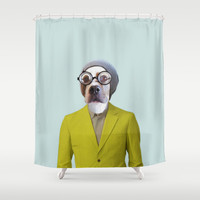 Polaroid N°11 Shower Curtain by Francesca Miele (Natt)