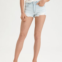 AE Denim X High-Waisted Short Short, Daylight Destroy
