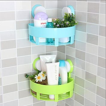 Simple life bathroom accessories basket rack wall hanging shelf bathroom shelf storage box storage tool