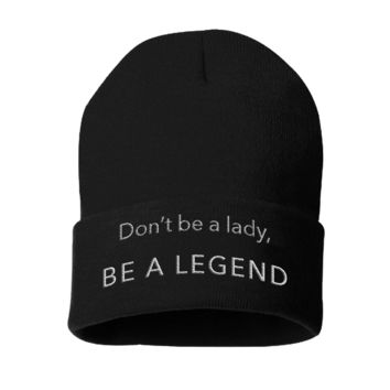 Beanies- Be A Legend