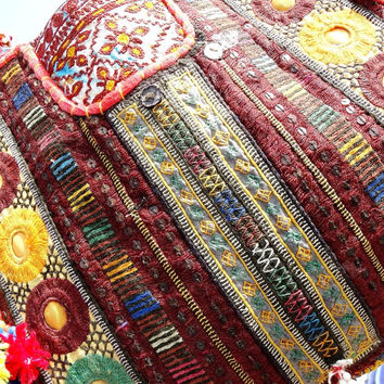 Tribel Banjara Bags tribel bags/ ethnic bags/ cotton bags/ antique bags coin bags gypsy bags patch work bags bohemian tote bags suzani bags