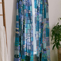 Magical Thinking Patchwork Curtain - Urban Outfitters