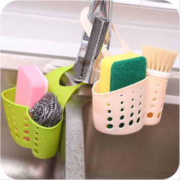 Portable Sponge Storage Rack Basket washcloth Toilet Soap Shelf Organizer Kitchen Gadgets Accessories Supplies Free Shipping
