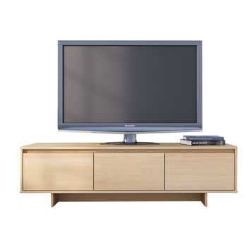 Renwick 60-inch TV Stand - Natural Maple
