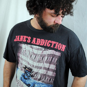 Authentic Vintage 1990 Jane'e Addiction Concert Tour by RogueRetro