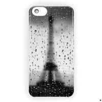 Rainy Paris Eiffel Tower Vintage For iPhone 5 / 5S / 5C Case