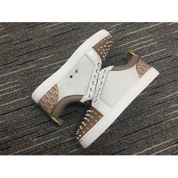 Christian Louboutin Cl Louis Junior Spikes Orlato Sneakers Reference 2