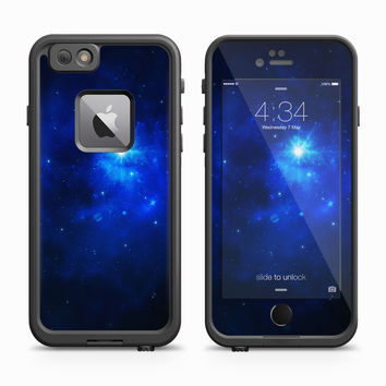 Blue Starry Night Telescopic Vision Skin for the Apple iPhone LifeProof Fre Case