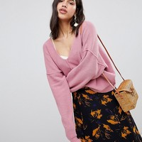 Free People Take Me Places Sweater at asos.com