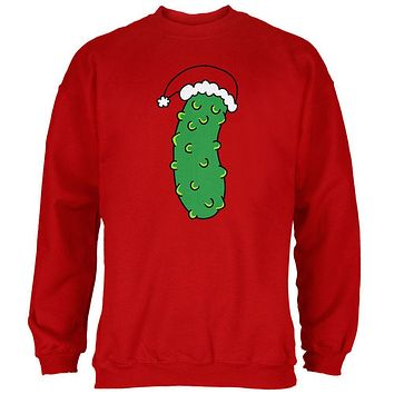 Christmas Pickle Mens Sweatshirt