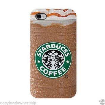 Starbucks coffee drink Case For iPhone 6 5s 5 5c 4s 4 Samsung Galaxy S4 S5 SALE
