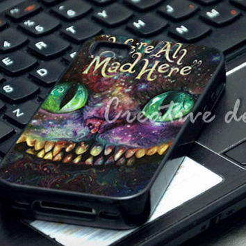 were are mad here nebula face case for iphone 4/4S, iphone 5/5C, samsung galaxy s3, samsung galaxy s4, ipod 4 and ipod 5