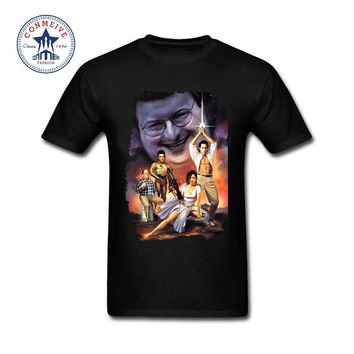 2017 Tops Unisex Seinfeld Wars Poster Art Cotton T Shirt for Men