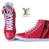 Men's Louis Vuitton High Top Sneakers