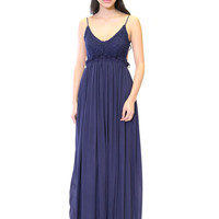 Backless Spring Daydream Maxi Dress