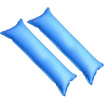 Deluxe 4' x 15' Ice Equalizer Air Pillow for Above-Ground Winter Pool Covers,(2)
