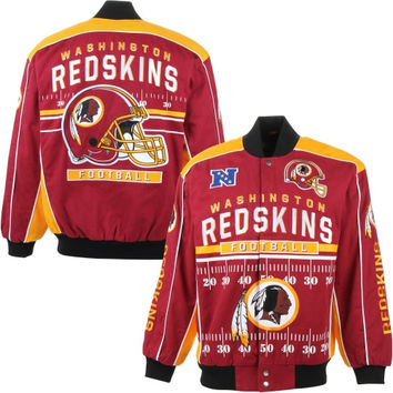 Washington Redskins Blitz Jacket – Burgundy