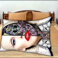 """Christina Aguilera - 20 """" x 30 """" inch,Pillow Case and Pillow Cover."""